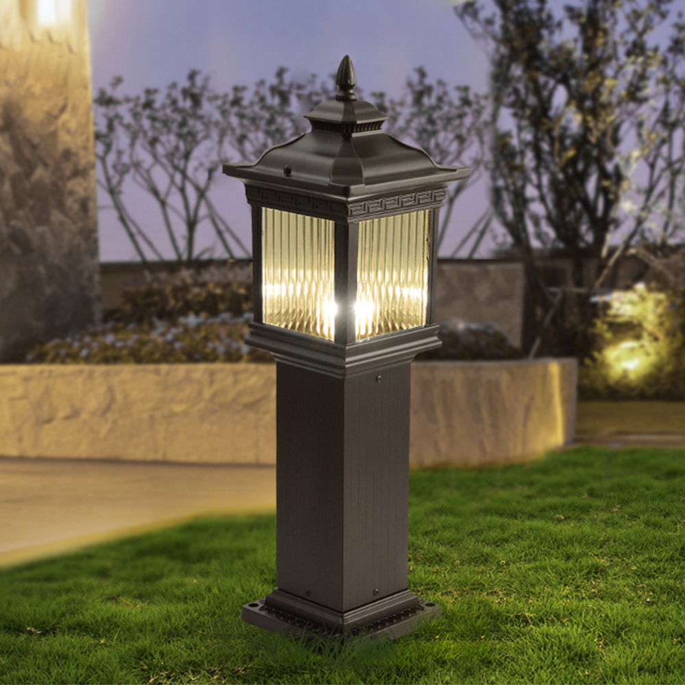 220v 110v Led Outdoor Waterproof Garden Lighting Lawn Lamp Lantern For  Landscaped Home Yard Path Cottage