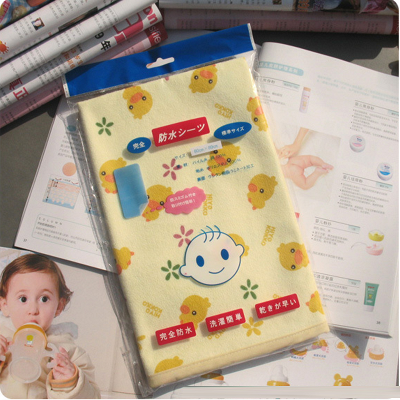 Newborn Baby Changing Pad Urinal Pad For Infant Children Bed Waterproof Cotton Cloth Diaper Inserts Changing Mat For Crib