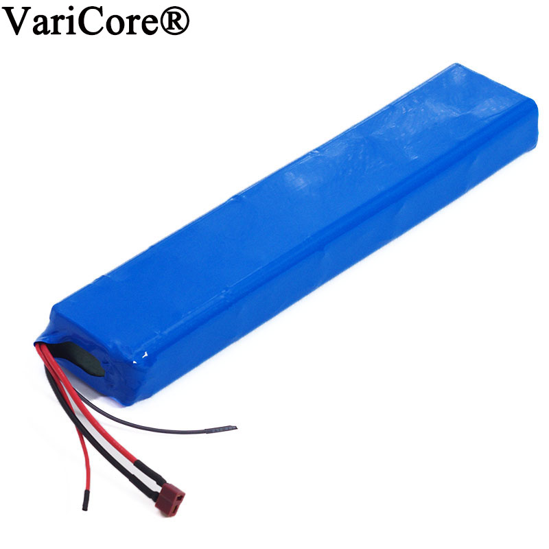 VariCore 36V 10S4P 10Ah 42V 18650 Strip lithium ion battery pack For ebike electric car bicycle motor scooter with 20A BMS 600W