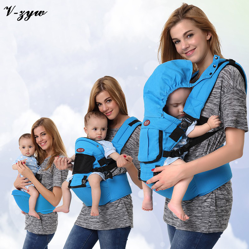 Baby Backpack Carriers Cotton Infant Backpack Carriers Kid Carrier Baby Wrap Sling Child Care Product Baby Carrier GZ115 baby carrier backpack