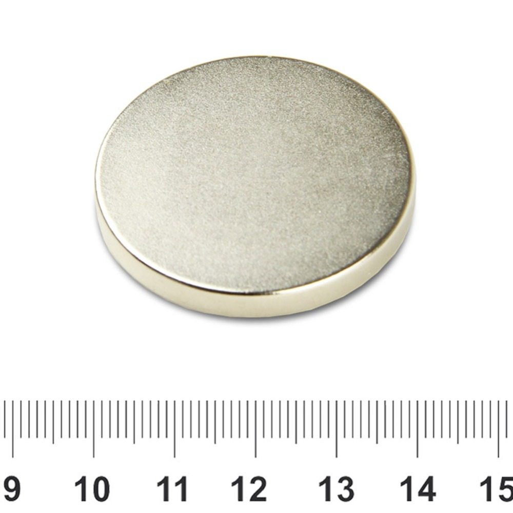 OMO Magnetics 5pcs Super Strong Round Magnets 40 mm x 5 mm Disc Rare Earth Neo Neodymium N35 omo magnetics n35 36pcs strong neodymium round ring cylinder countersunk hole 5mm magnets 20mm x 3mm