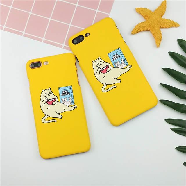 coque iphone 7 cat