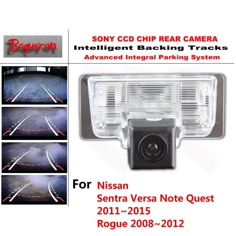 for Nissan Sentra Versa Note Quest Rogue CCD Car Backup Parking Camera Intelligent Tracks Dynamic Guidance Rear View Camera for toyota 4runner fortuner sw4 2005 2012 ccd car backup parking camera intelligent tracks dynamic guidance rear view camera