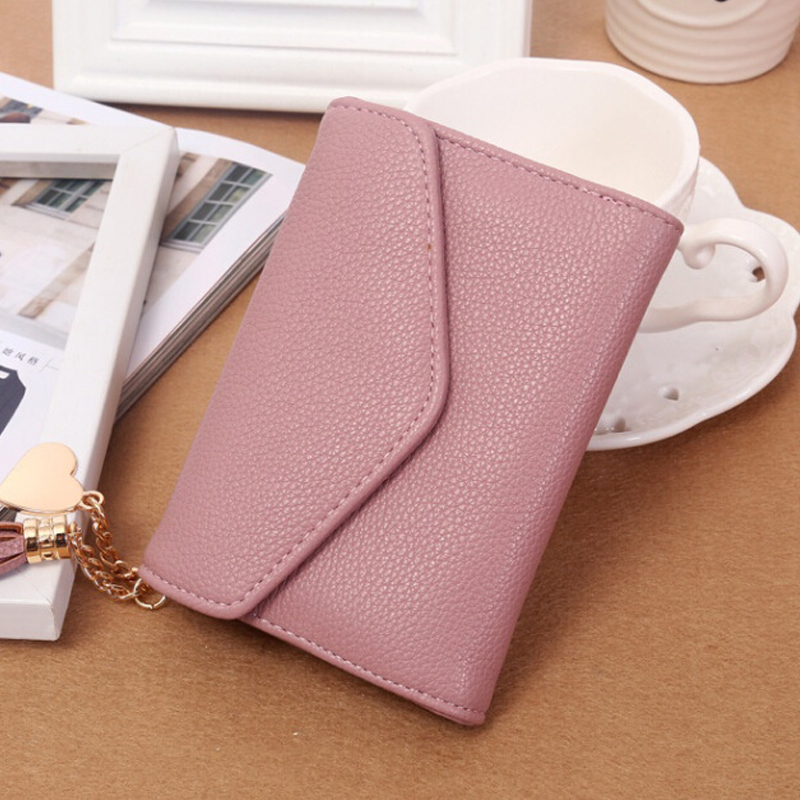 Hot New Fashion Envelope Women Wallet Hit Color Flowers Printing PU Leather Wallet Long Purse Coin Pocket Card Holder