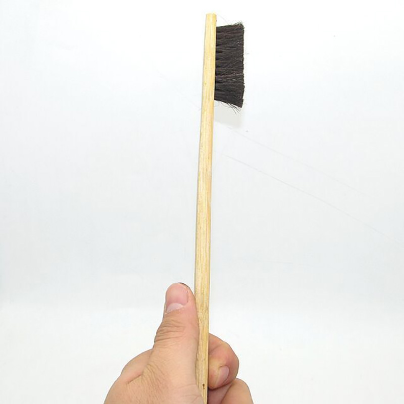 Image 5 - 1pc Size 40cm Car Wash Cleaning Detailing Brush Bamboo Long handled Pig Hair Wheel Brush Car Care Tools Auto Detailing 2019-in Sponges, Cloths & Brushes from Automobiles & Motorcycles
