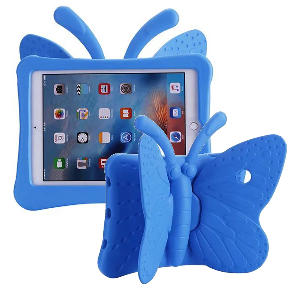 For Funda iPad Pro 9.7 Case New 3D Butterfly EVA Foam Shockproof Kid Safe Cover Cases for iPad Pro 9.7 with Wing Stand Holder