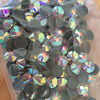SS34 288PCS/BAG Crystal AB DMC HotFix FlatBack Rhinestones Crystal Hot Fix glitters iron-on garment shoes crystal stone