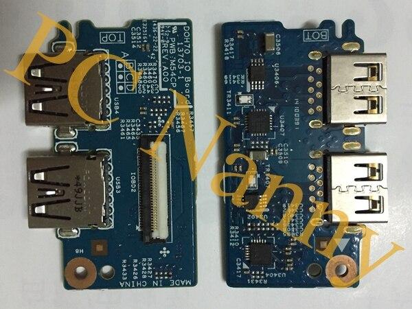 Genuine For dell Inspiron 7737 DP/N:8L0207 0DG2C DOH70 USB Board