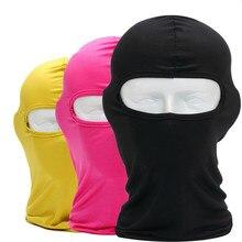 Балаклава маска для лица мотоциклетная тактическая маска для лица Лыжная маска Cagoule Visage маска для всего лица Гангстерская маска Прямая поставка