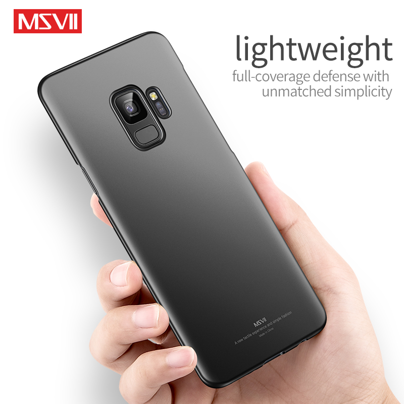 For Samsung Galaxy S9 plus Case cover msvii luxury Hard PC