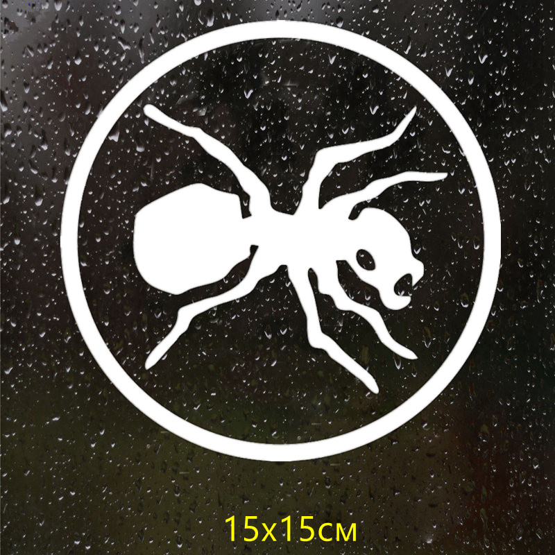 CS 777 15 15cm Ant version 1 funny car sticker vinyl decal silver black for auto car stickers styling car decoration in Car Stickers from Automobiles Motorcycles