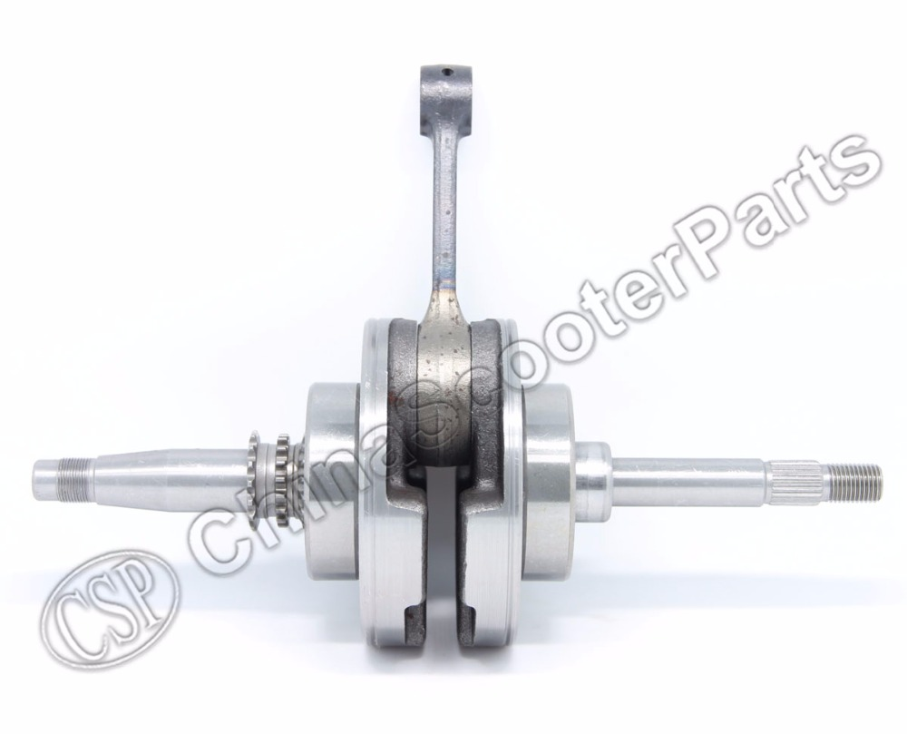 Crankshaft for Kazuma 250 250CC Water cooled ATV Go Kart Moped Scooter magneto coil 12v 18 coils 3 2 pins repair water cooled cf188 cf500 18 pole stator utv atv buggy go kart 0180 032000 xq cf500