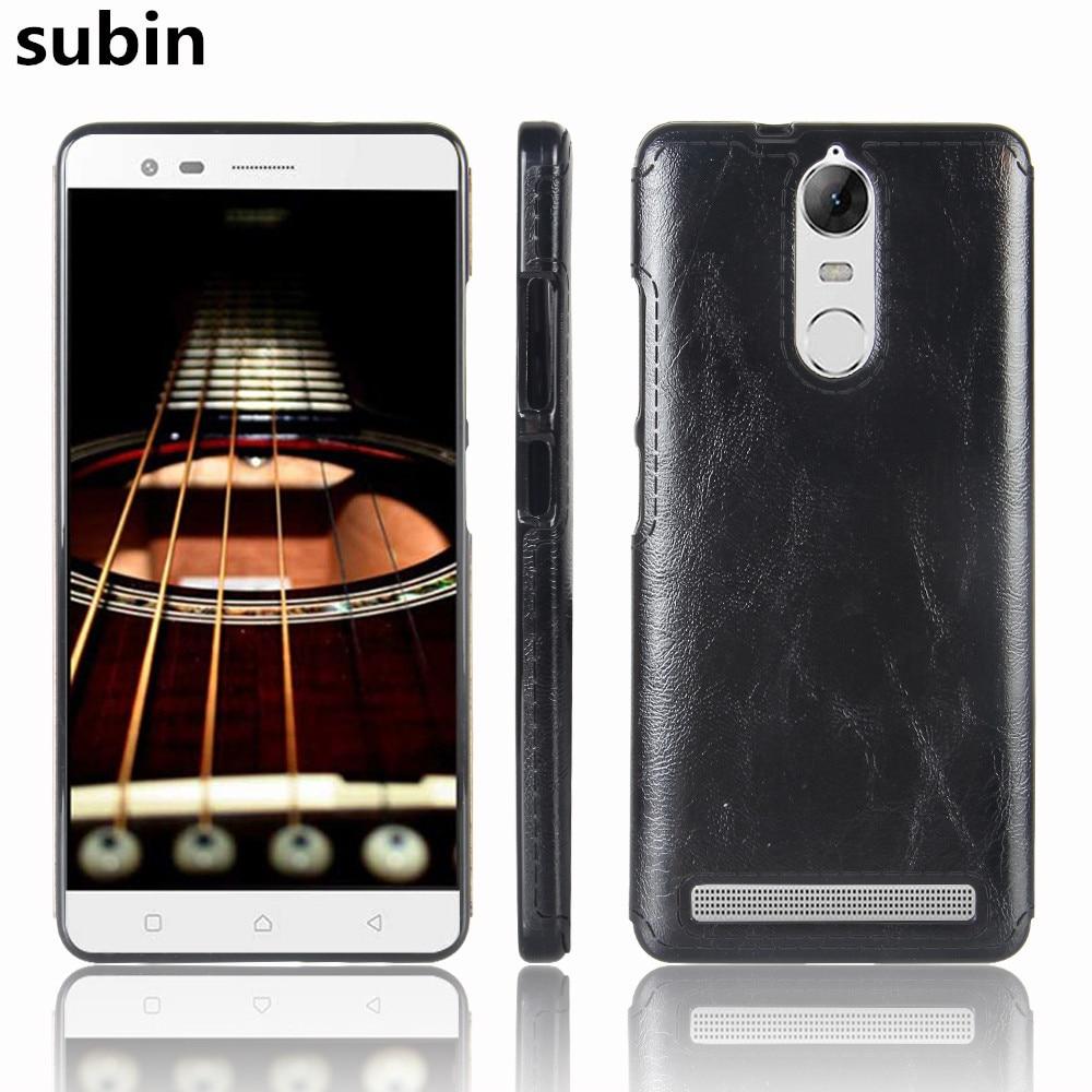 Pro Lenovo K5 Note K52E78 případ 5.5 palce PU kůže vzor TPU silikonový měkký mobilní telefon kryt pro Lenovo Vibe K5 Note Pro K52t38