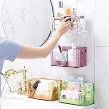 Makeup Organizers Desktop cosmetic storage box Bathroom punc