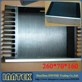 Amp recinto / DIY BOX amplificador / PSU / Case ( 260 x 70 x 166 mm )