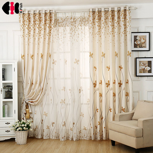 Rustic Curtains Endless Window For Living Room Voile Sheer Bedroom Kitchen With Eyelets Wp396b