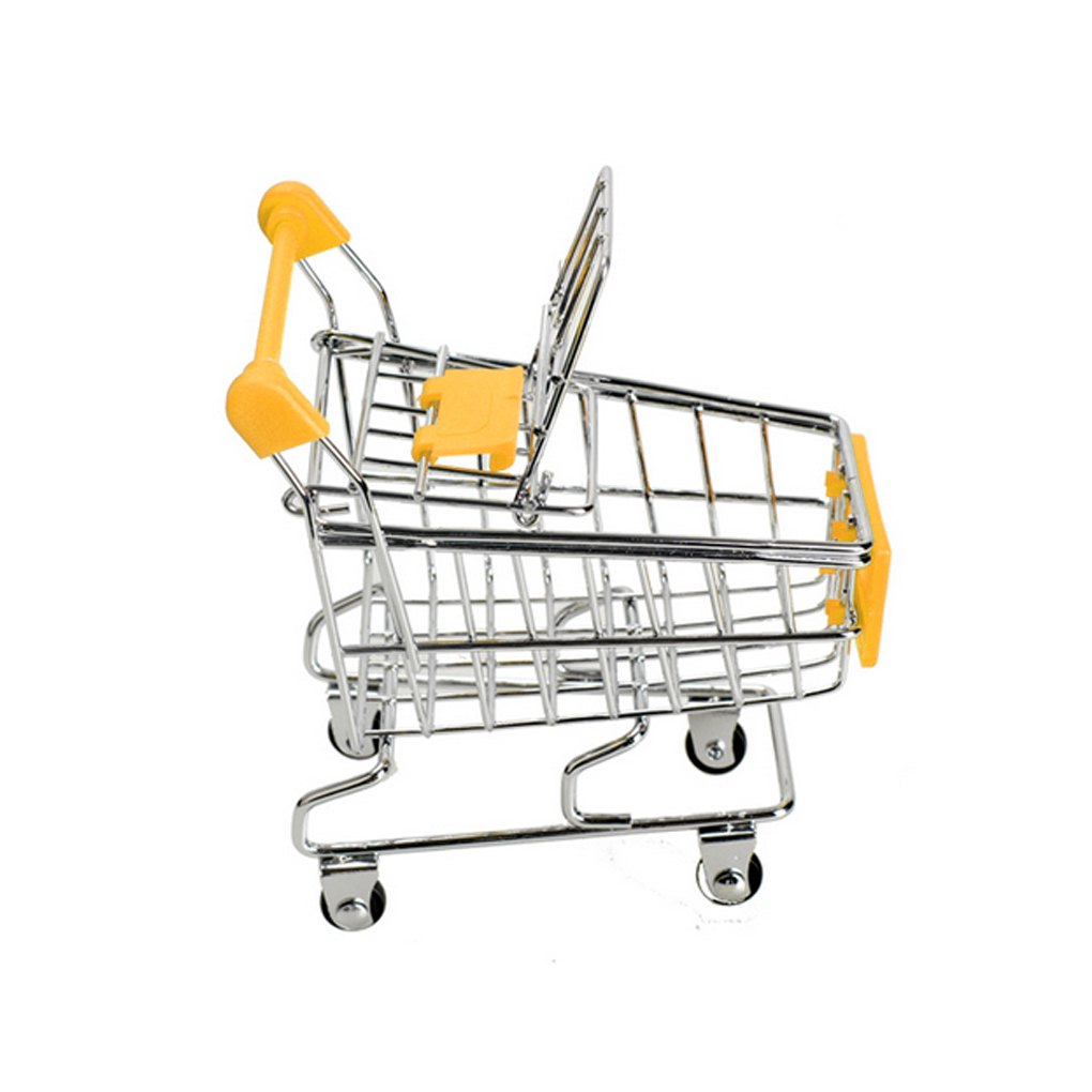 1 Pc Neue 11,5x8,5x11,5 Cm Baby Kinder Simulation Mini Warenkorb Spielzeug Handwagen Supermarkt Lagerung Korb Trolley Spielzeug