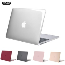 MOSISO New Matte Case For Macbook Air 13 inch Transparent Laptop Hard Protect with Touch ID A1932 2018