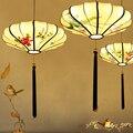 Ретро Китайский стиль подвесной светильник фонарь подвесные светильники одежда подвесной светильник lampara led люстры para sala
