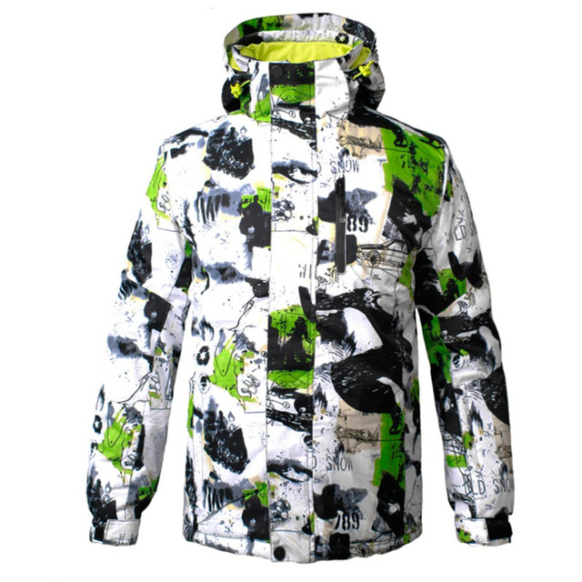 Winter Ski Jackets Men Outdoor Thermal Waterproof Snowboard Jackets  Climbing Snow Skiing Clothes 4 Colors New Style db86f314d