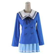 Anime Beyond the Boundary Kuriyama Mirai cosplay costume 2016 new arrival halloween costumes anime kyoukai no kanata hiroomi nase cosplay costume beyond the boundary unisex cos clothes
