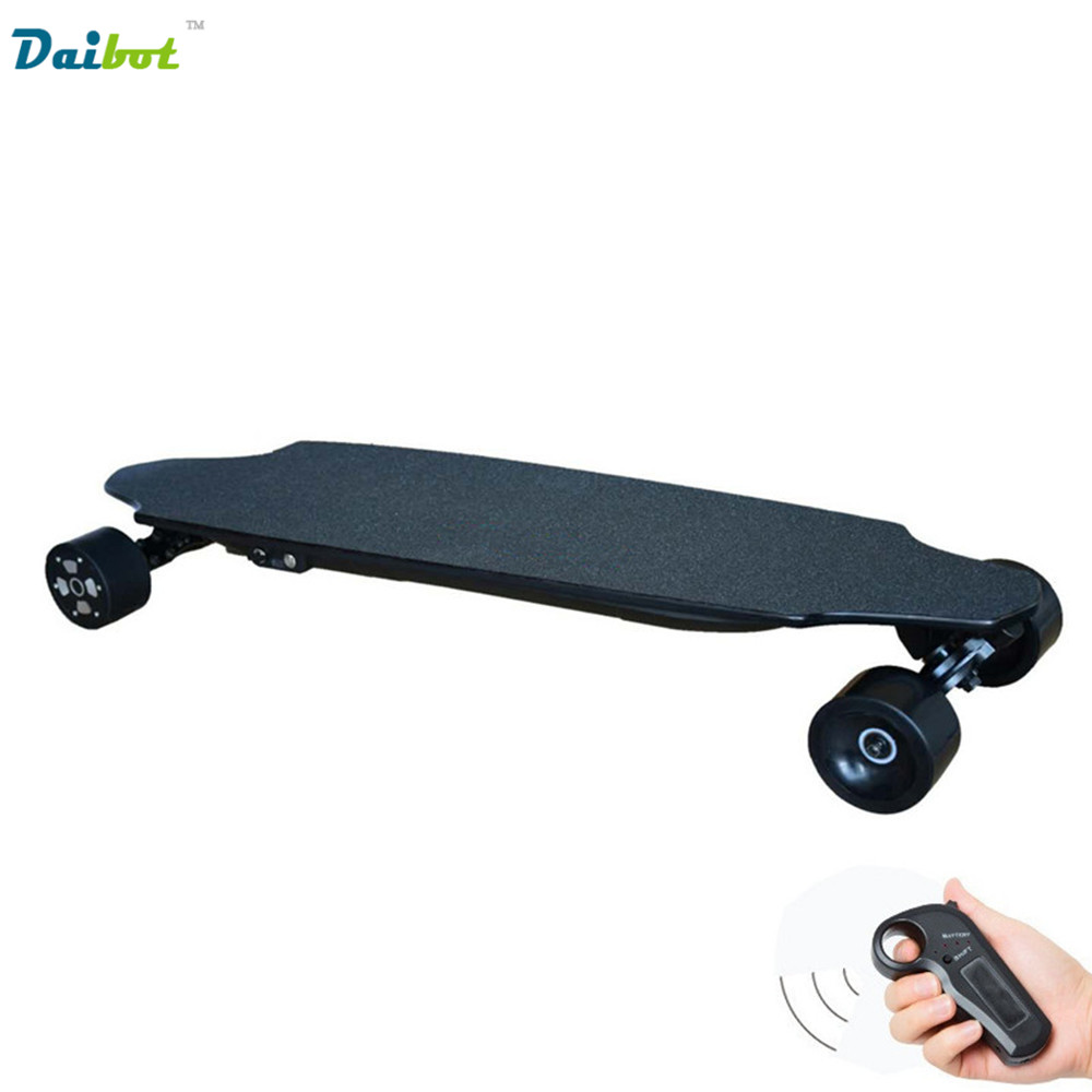 40KM/h 4 Wheel Electric Skateboard Dual Motor Remote Wireless Bluetooth Control Scooter Hoverboard Longboard outdoor 2 4g frequency wireless remote control small fish board electric skateboard motorized hub adult scooter one motor