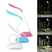 Touch Sensor LED Hotsale USB Touch Switch LED Flexible Desk Table Lamp 3level Adjusted Brightness Cycle