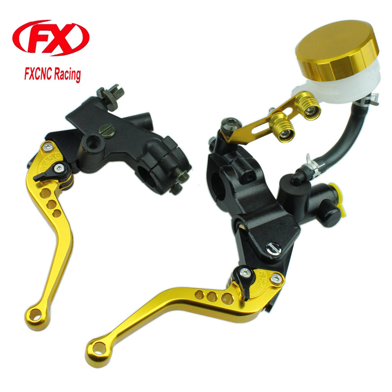 125-600cc Motorcycle Brake Clutch Levers Master Cylinder Hydraulic Brake Cable Clutch For Honda Rebel CMX250C 2003-2011 CMX250 regular brake clutch levers for honda cmx 300 500 rebel cb750 nt650 bros hawk gt vf750c vt1100 motorcycle adjustable new