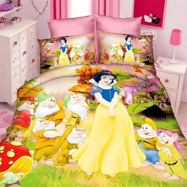 Beautiful 3d Fairy Queen Girls Twin Single Size Bedding Set Of 2