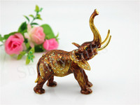 Thailand Elephant Souvenir Gift Box Birthday Gifts Elephant Trinket Box Free Shipping