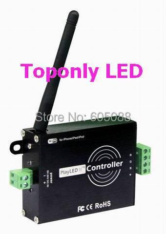 DC5-24v wifi LED de contrôle pour ampoules LED rgb normal/rondelles/ampoules murales, conçu pour les appareils ipone/ipad/ipod et android!