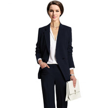 Custom Slim Fit Handmade Work Bussiness Elegant Women Suit Set
