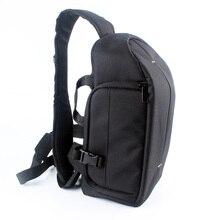 Водонепроницаемый DSLR Камера Сумка Рюкзак Case слинг плеча Сумка для Nikon D3300 D3200 D3100 D7200 D7100 D5300 D5200 D700