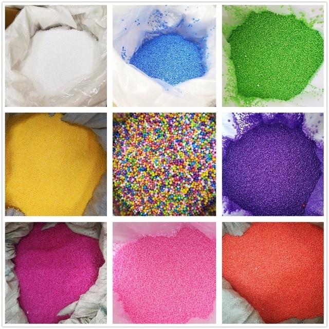 Wholesale 500g New Mini Assorted Colorful Rond Foam balls Polystyrene Styrofoam Filler Foam Beads Balls Crafts DIY Craft Decor