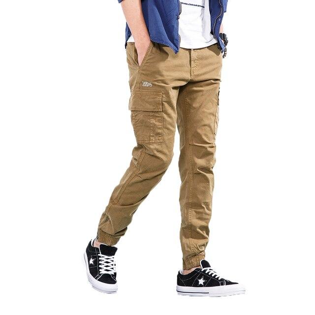 2018 vert armée Pantalon Cargo Pour Hommes Hip Hop Décontracté Camouflage  Pantalon Mode Crayon Pantalon Streetwear 03b64bc0823