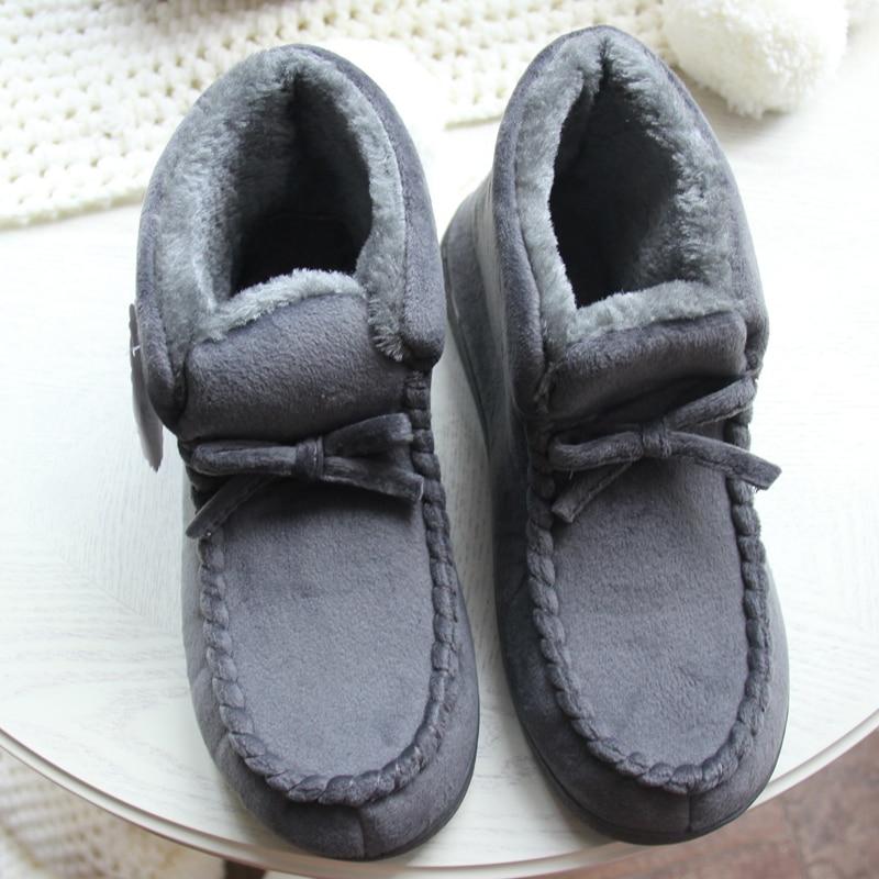 Zapatos de mujer para el piso en casa Suave, corte alto, amante, - Zapatos de mujer - foto 4