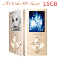 Aluminum Alloy MP4 Player 16gb With Built In Speaker Hifi Player Hifi Speaker Fm IQQ X08
