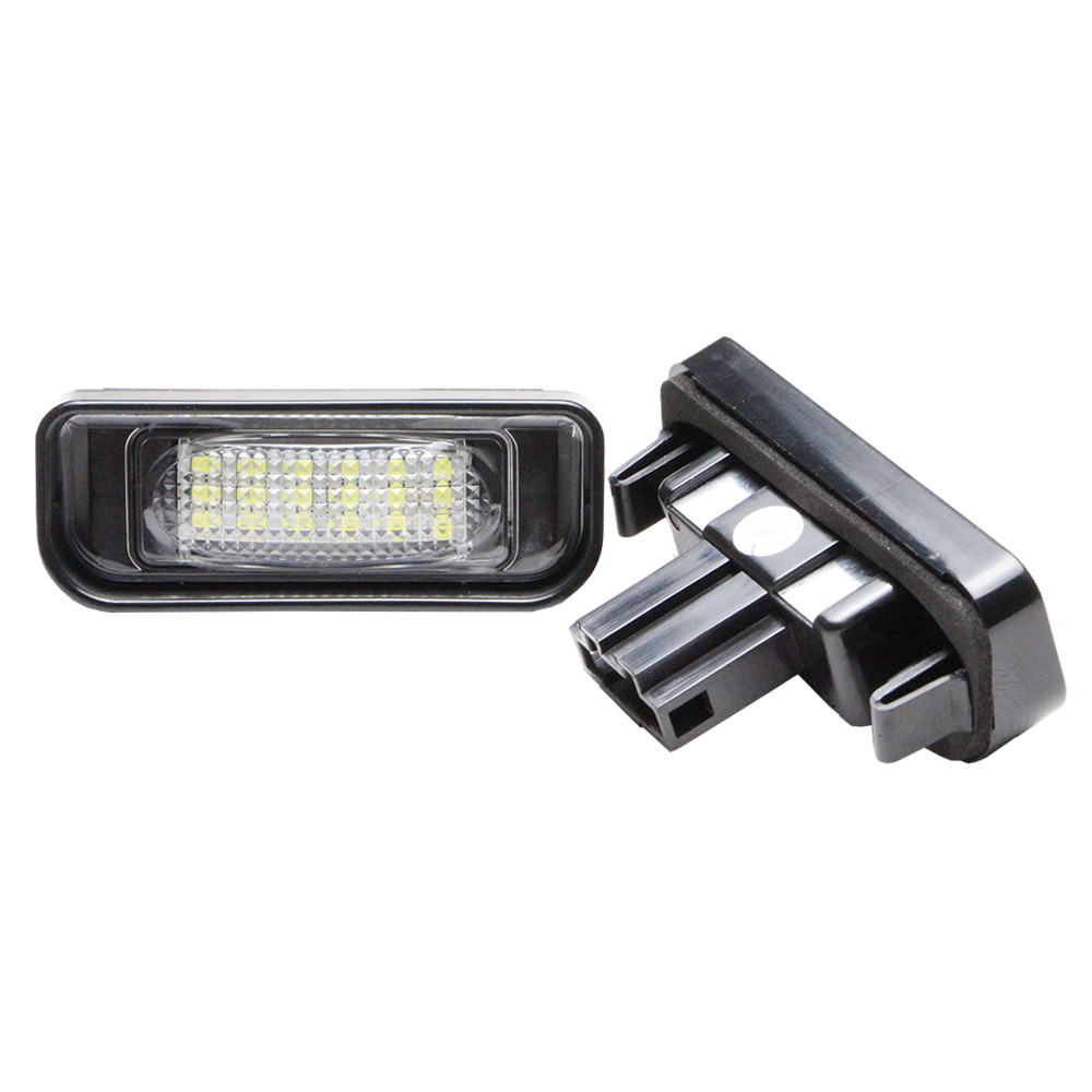 7000k super white 18smd led license plate light for for Led light for mercedes benz
