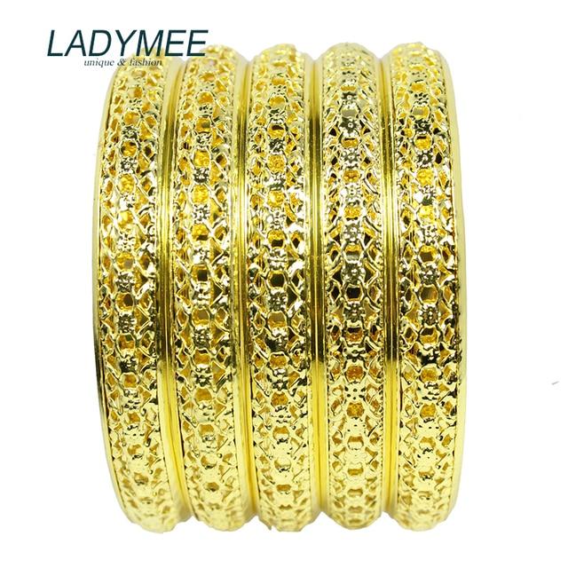 Bracelet Bangles Indian Jewelry Gold Metal Bracelets for Women