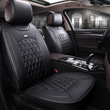 Front Rear Special Leather Car Seat Covers For Volkswagen Vw Passat Polo Golf