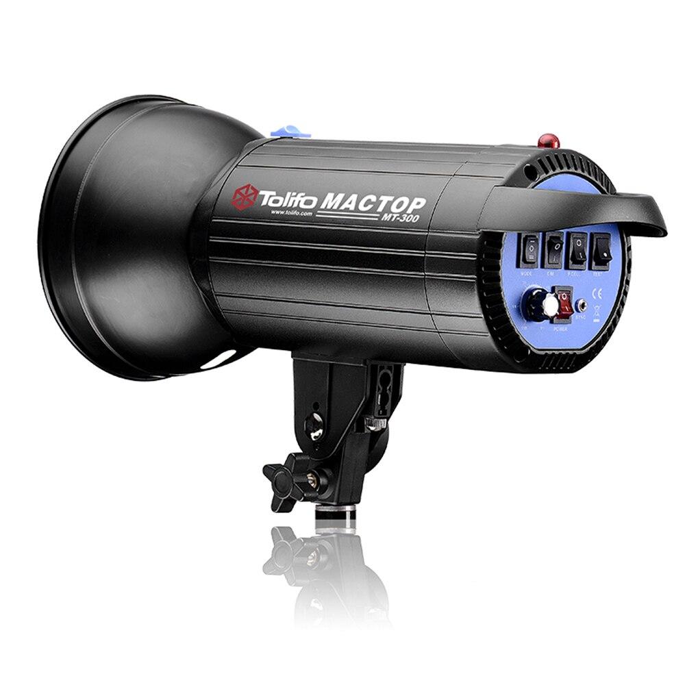 MT-300 Studio flash stroboscopique tube épais 220 v puissance 300 W lampe de studio