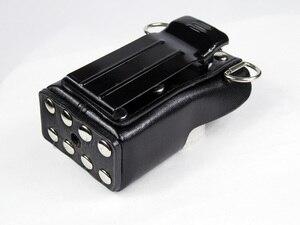 Image 4 - XQF ハード人工皮革ケースホルスター + ベルトクリップモトローラ双方向ラジオトランシーバー GP328 + プラス GP388 GP344 GP638 +