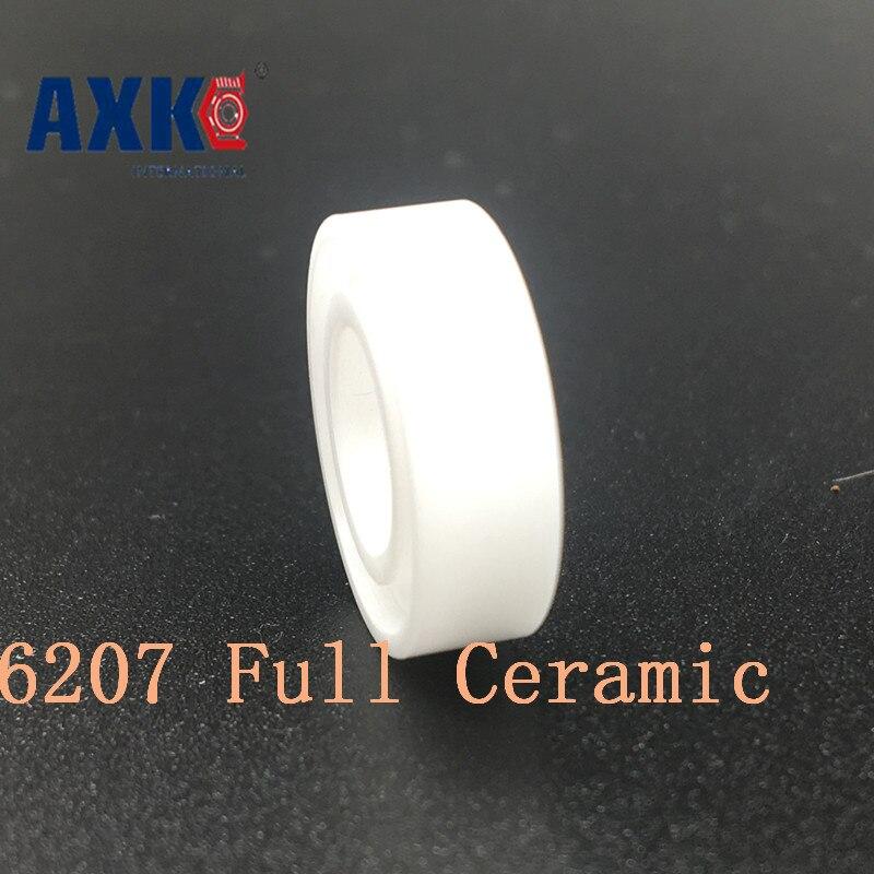 2019 New Top Fashion Axk 6207 Full Ceramic Bearing ( 1 Pc ) 35*72*17 Mm Zro2 Material 6207ce All Zirconia Ball Bearings2019 New Top Fashion Axk 6207 Full Ceramic Bearing ( 1 Pc ) 35*72*17 Mm Zro2 Material 6207ce All Zirconia Ball Bearings
