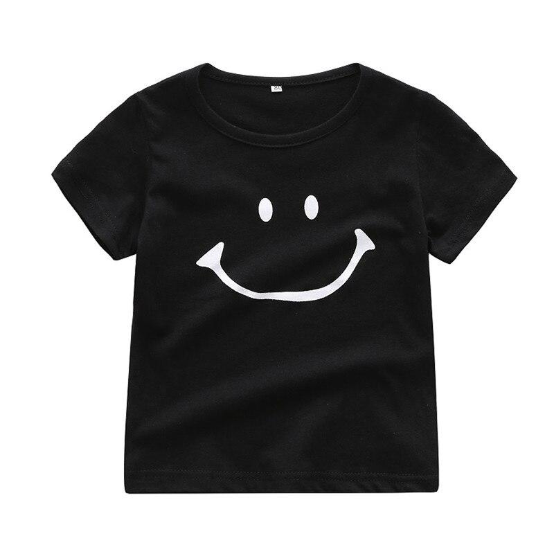 361eb7b21 Newborn Baby Kids Boy Girl Smile Cartoon Short Sleeve T-shirt Tee Tops Clothes  0
