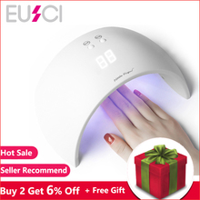 EUSCI Lamps For Nails Nail Dryer UV LED Lamp 27W Manicure UV Lamp For Manicure Gel Varnish Drying For Nail Gel Polish Curing