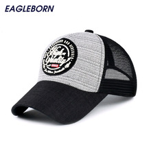 Brand New Fashion Super Breathable Baseball Cap with Mesh Summer Style Sun Visor Hats For Women Men Adjustable Snapback Hats