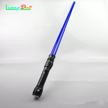 Boy Girl Gift Light Stick Luminescent Music Telescopic Star Wars Laser Sword Lightsaber Cosplay Props Մանկական Flashրամեկուսացման Խաղալիքներ