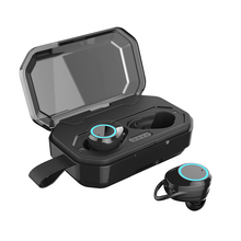 Bluetooth 5.0 Wireless Earphones Touch Control IPX6 Waterproof Headset 3000mAh Charge Box Sports Earbuds