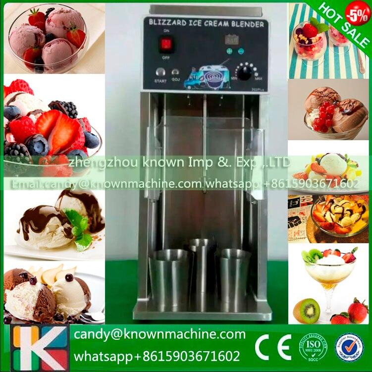 Commercial more efficient chocolate /nuts /frozen yogurt blending fruit ice cream mixer machine fruit ice cream feeder from factory selling gelato fruit nuts mixer