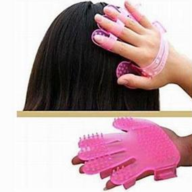 Gel Scalp Massager with Soft Bristles to Soothing Hair and Enhancing Hair Growth Helps to Increase Blood Circulation